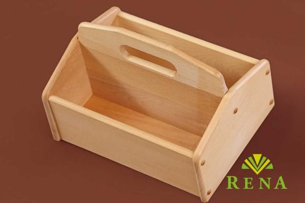 Schuhputzkiste Aufbewahrung Zubehör Lederpflege Holz