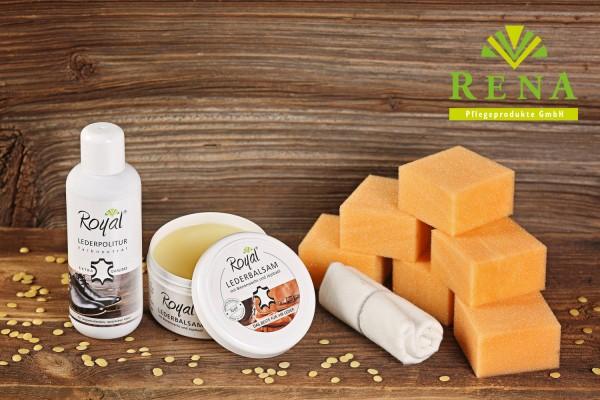 Perfekter Glanz und hochwertige Pflege für ihr Glattleder