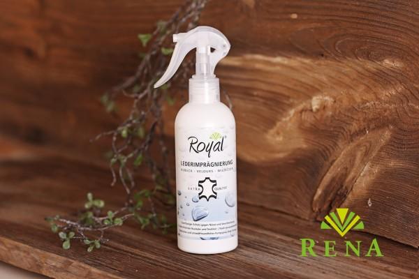 Lederimprägnierung Lederpflege Royal® 250ml perfekter Schutz Imprägnierung